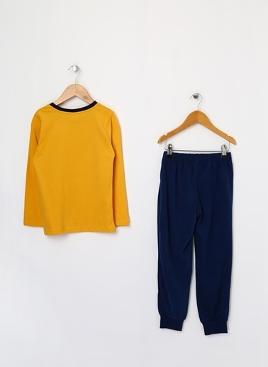 Limon Company Pijama Takım Sarı